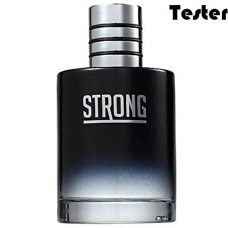 Tester Strong Eau de Toilette New Brand 100ml - Perfume Masculino