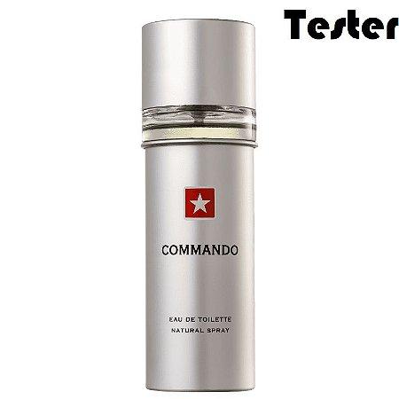 Tester Commando Eau de Toilette New Brand 100ml - Perfume Masculino