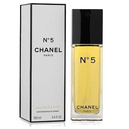 Chanel Nº 5 Eau de Toilette 100ml - Perfume Feminino