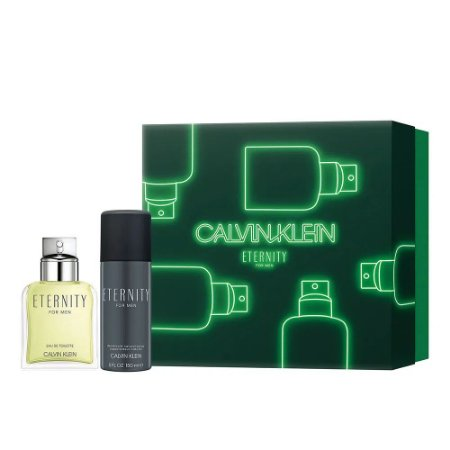Kit Eternity Calvin Klein Eau de Toilette 100ml + Desodorante 100ml - Masculino