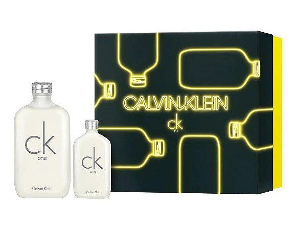 Kit CK One Calvin Klein Eau de Toilette 200ml + 50ml - Unissex