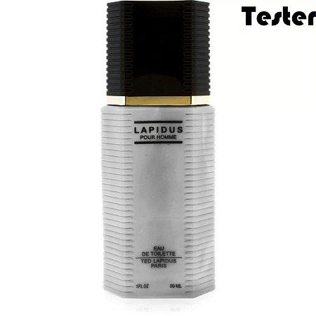 Tester Lapidus Eau de Toilette Ted Lapidus 30ml - Perfume Masculino