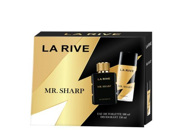 Kit Mr. Sharp La Rive Eau de Toilette 100ml + Desodorante 150ml - Masculino