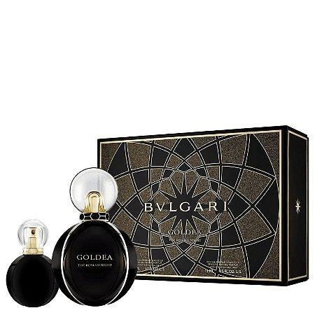 Kit Goldea The Roman Night Bvlgari Eau de Parfum Sensuelle 50ml + Miniatura 15ml - Feminino