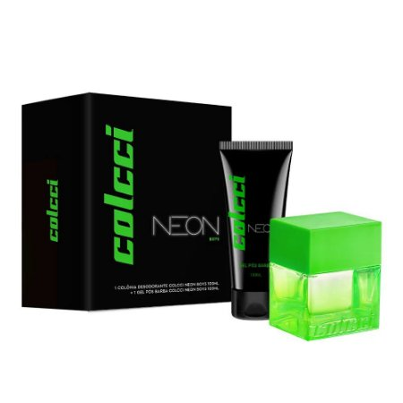 Kit Colcci Neon Boys Eau de Toilette 100ml + Loção Pós-Barba 100ml - Masculino