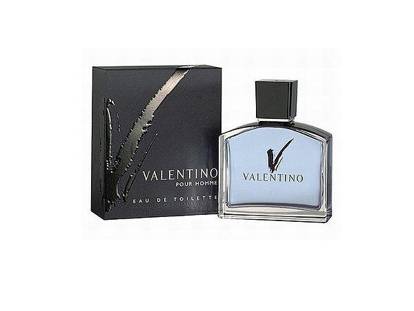 V Pour Homme Eau de Toilette Valentino 100ml - Perfume Masculino