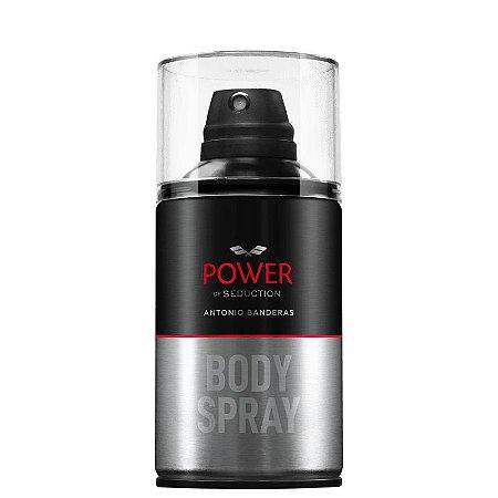 Body Spray Power of Seduction Antonio Banderas 250ml - Masculino