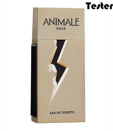 Tester Animale Gold Eau de Toilette 100ml - Perfume Masculino