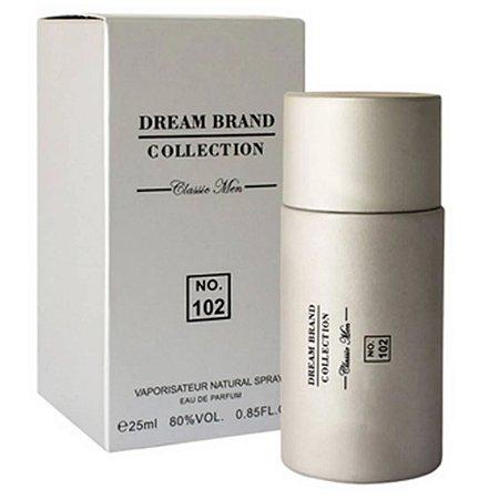 Brand Collection 102 Classic Men Eau Parfum 25ml - Perfume Masculino