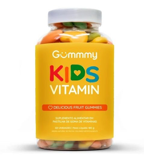 Gummmy Kids Vitamin 60 cápsulas