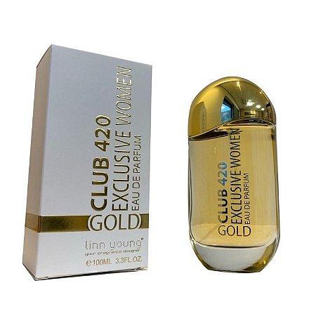 Club 420 Gold Linn Young Eau de Parfum 100ml - Perfume Feminino