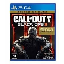 Call of Duty Black ops III Gold ouro edition - ps4