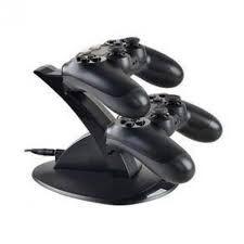Suporte Dock Station Para 02 Controles Do Playstation 4