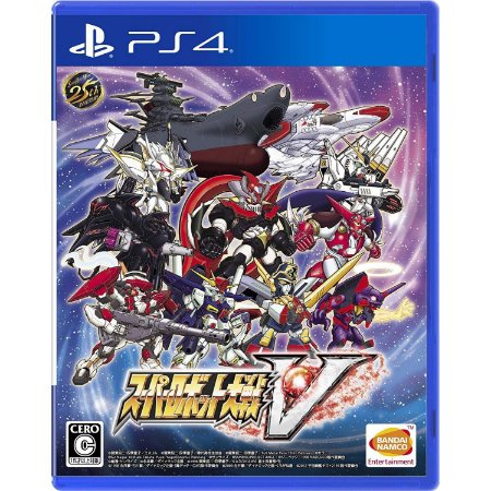 Super Robot Wars V (com Bonus Dlc) - ps4