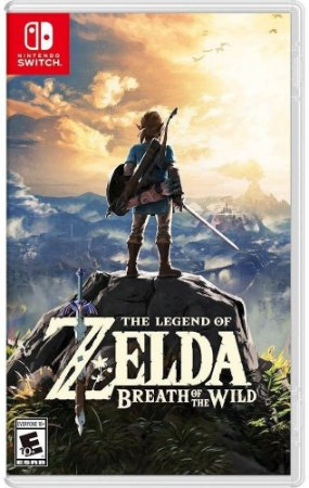 Legend Of Zelda Breath Of the Wild - Switch