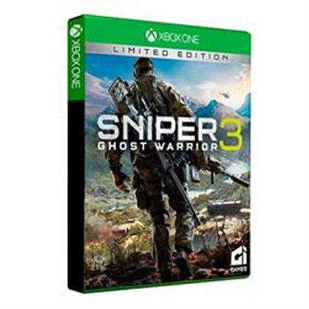 Sniper Ghost Warrior 3 Edição Limitada - xbox one