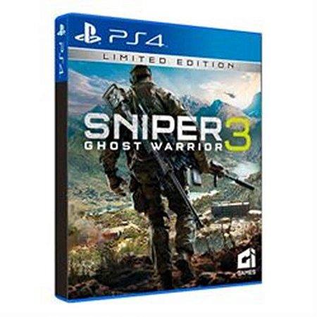 Sniper Ghost Warrior 3 Edição Limitada - ps4
