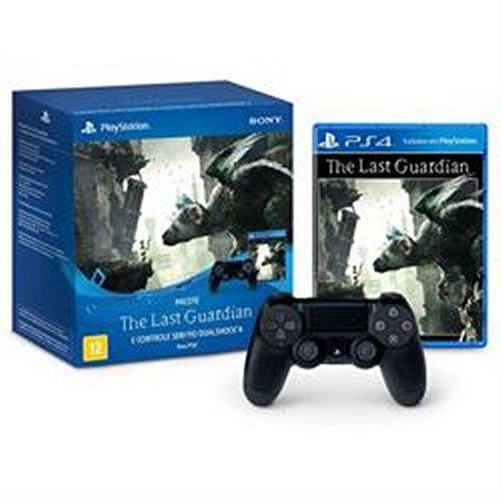 Pacote Controle Sony Dualshock 4 + Jogo The Last Guardian - ps4