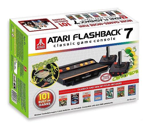Console Atari Flashback 7 + 101 Jogos Na Memória