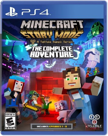 Minecraft: Story Mode- The Complete Adventure - ps4