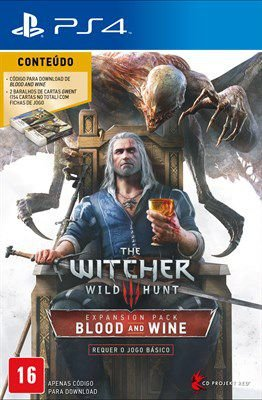 Pacote Expansão The Witcher 3: Wild Hunt Blood & Wine - ps4