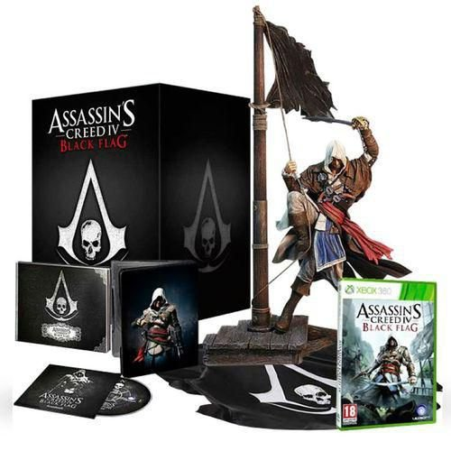 Assassin'S Creed Iv Black Flag Limited Edition - Xbox 360
