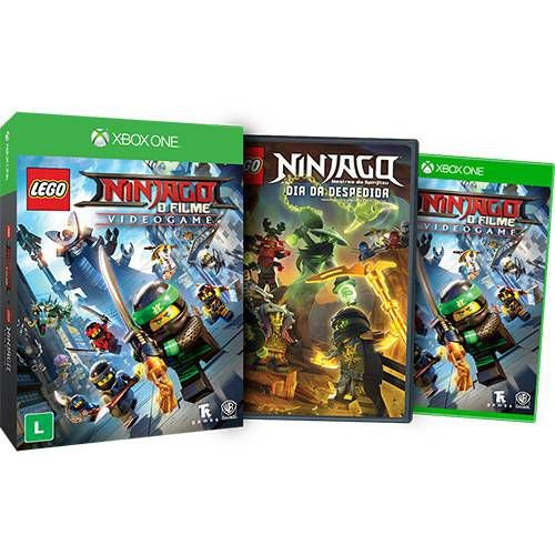 Lego Ninjago: Game ed.limitada - Xbox one