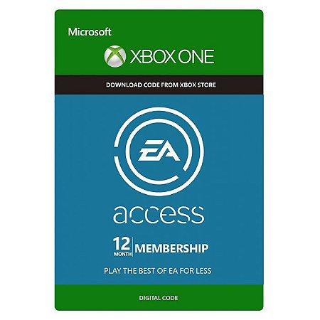 Assinatura EA Access (12 Meses) - XBOX One