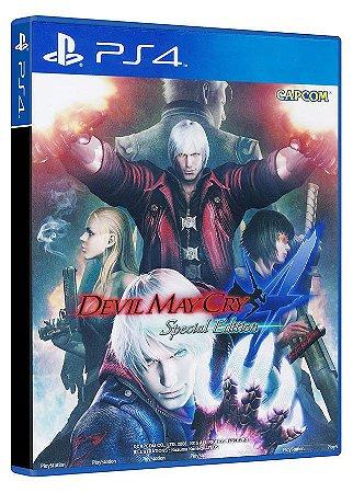Devil May Cry 4 edição especial - Ps4