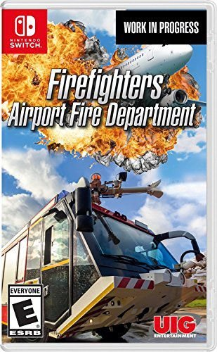 Entertainment Firefighters Airport Simulator - Switch
