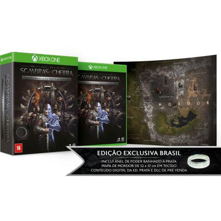 Terra-Média: Sombras da Guerra - Edição Prata - Xbox One