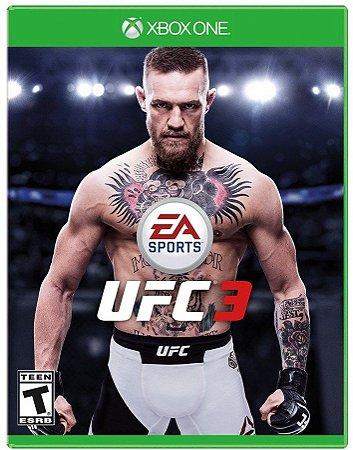 Jogo Ufc 3 - Xbox one