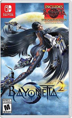 Bayonetta 2 (with Bayonetta 1 DLC) - switch