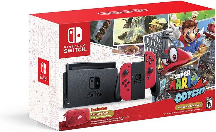 Console Nintendo Switch - Super Mario Odyssey Edition