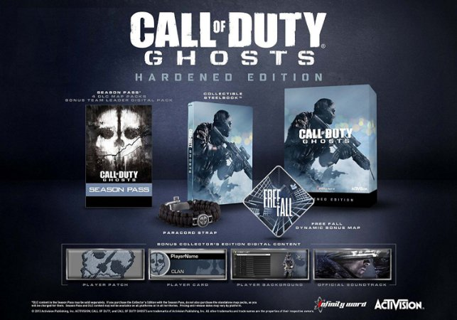 Call of Duty Ghosts Hardened Edition - Xbox 360