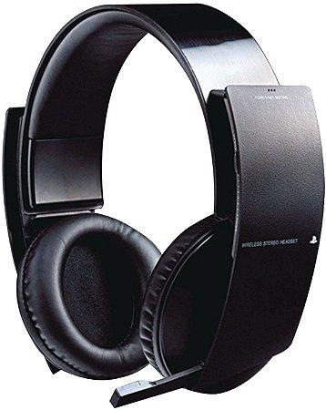 Headset Sony Pulse 7.1 com fio - PS3, PS4 e PC