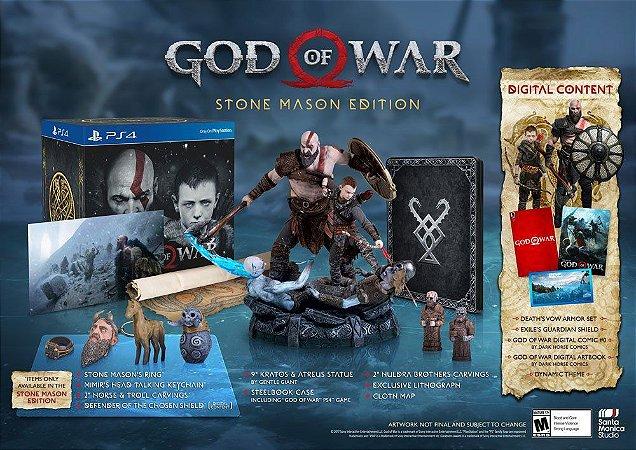 God of War Stone Mason's Edition - Ps4