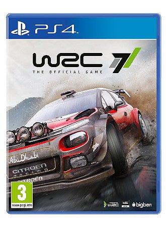 Jogo WRC 7: FIA World Rally Championship - PS4