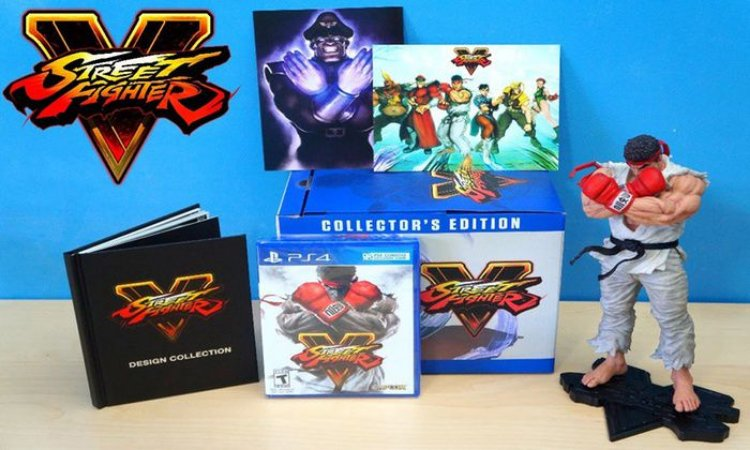 Street Fighter V (Collector's Edition) - PS4