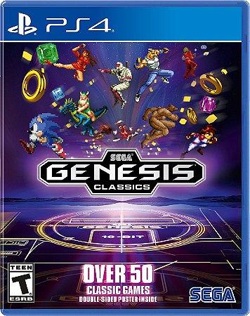 Jogo Sega Genesis Classics Collection - PS4