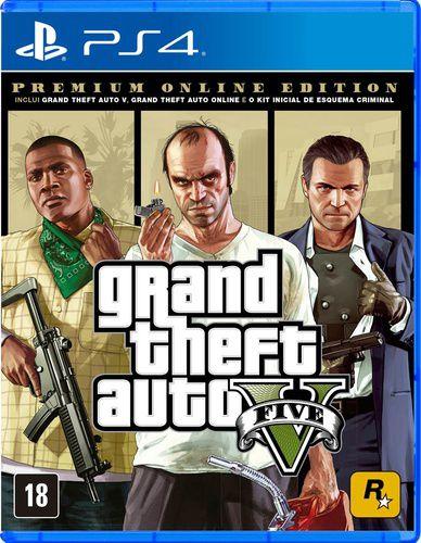 Grand Theft Auto 5 - Premium Online Edition (GTA 5) - PS4
