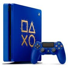 console sony playstation 4 slim 1tb azul days of play edition