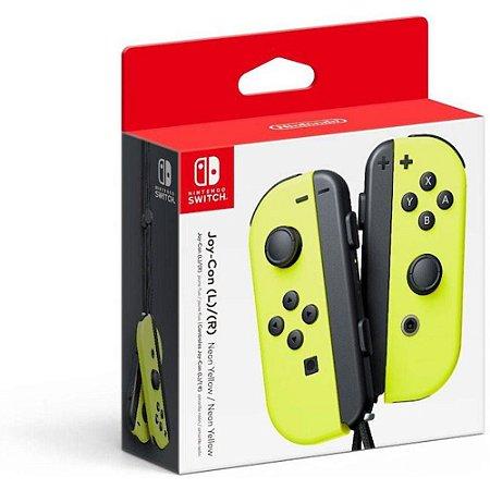 Controle Joy-con (l/r - Esquerdo E Direito) Amarelo - Switch