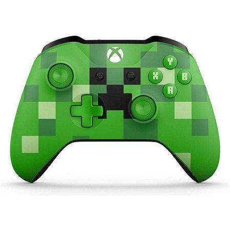 Controle Sem Fio (Minecraft Creeper) - XBOX One