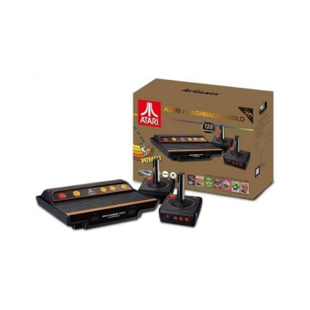 Console Atari Flashback 8 Classic System Gold Edition C/ 120 Jogos
