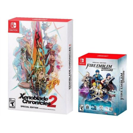 Xenoblade Chronicles 2 Special Edition + Fire Emblem Warriors Edição Limitada - Switch