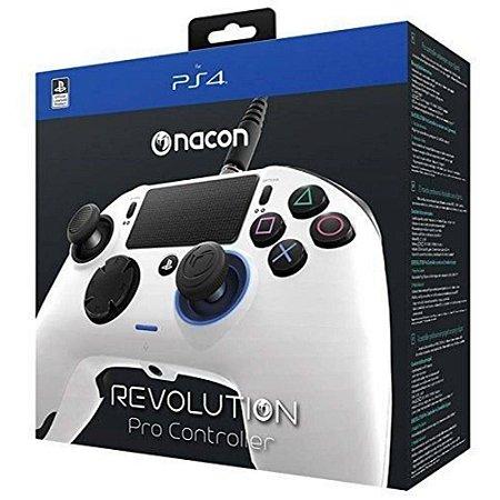 Controle Revolution PRO (Nacon) (Branco) - PS4