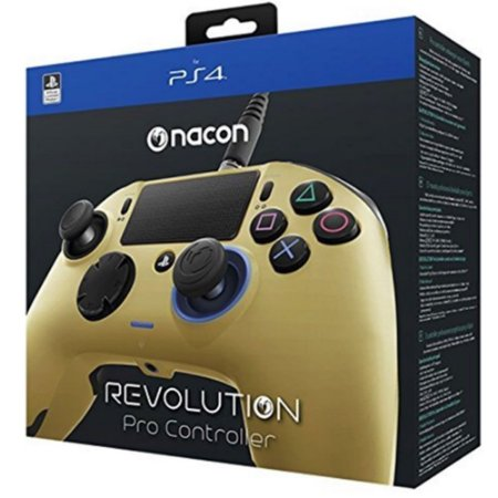 Controle Pro Nacon Gold Para Playstation 4