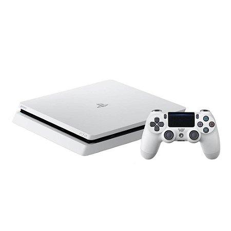 Console Playstation 4 Branco 500gb Slim