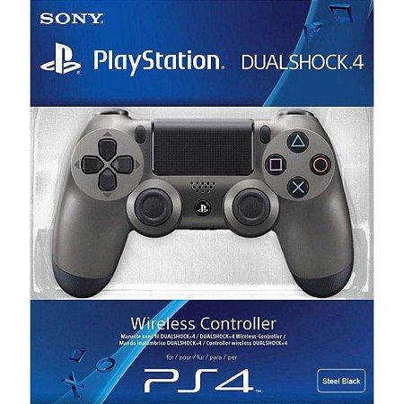 Controle Wireless Dualshock 4 Steel Black